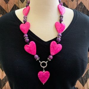 Jewelry - Heart Necklace/Lanyard/ID Badge